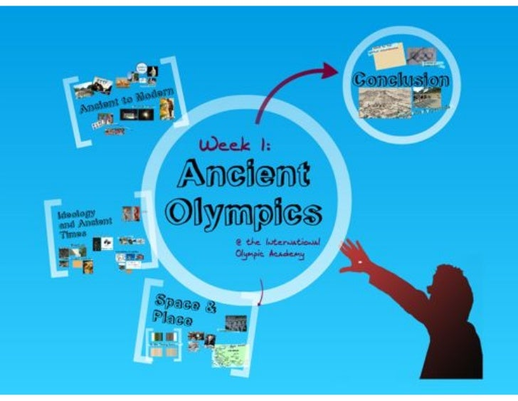 Conclusions from the International Olympic Academy, September