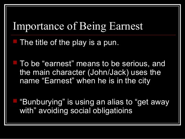 the paradox of victorian england in the importance of being earnest a play by oscar wilde The importance of being earnest, a trivial comedy for serious people is a play by oscar wilde first performed on 14 february 1895 at the st james's theatre in london, it is a farcical comedy in which the protagonists maintain fictitious personæ to escape burdensome social obligations.