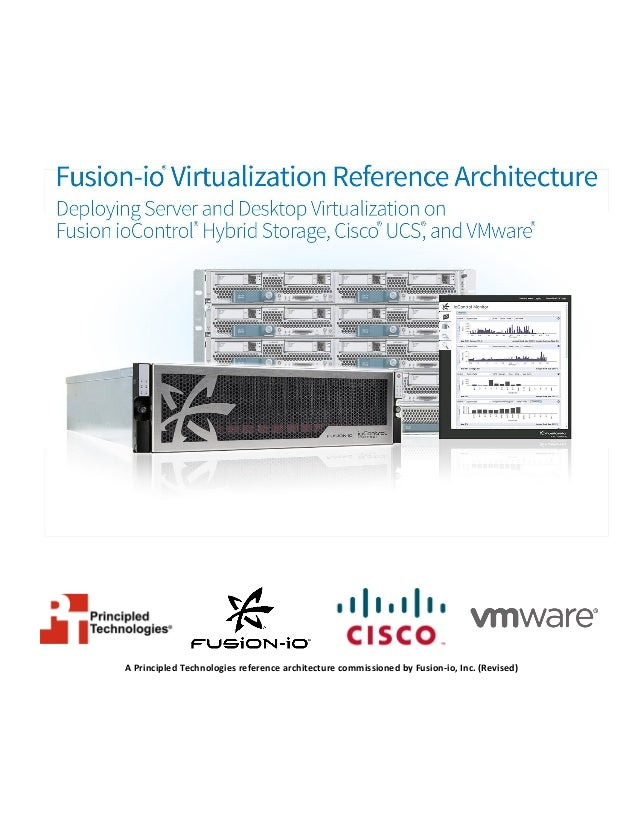 Fusion-io Virtualization Reference Architecture: Deploying Server and Desktop Virtualization on Fusion ioControl Hybrid Storage, Cisco UCS, and VMware
