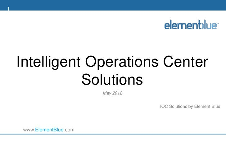 IOC Solutions By Element Blue