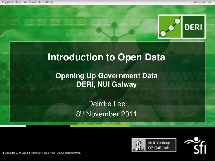 Introduction to Open Data