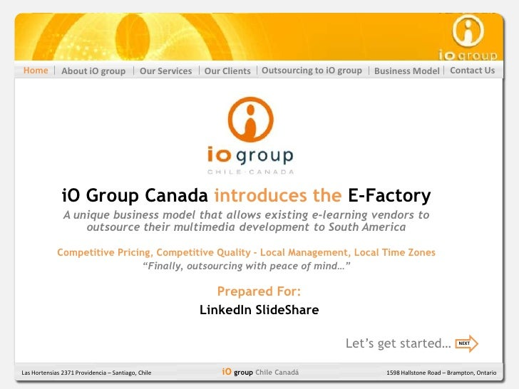Home           About iO group               Our Services   Our Clients   Outsourcing to iO group   Business Model         ...