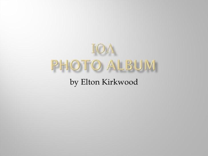 by Elton Kirkwood