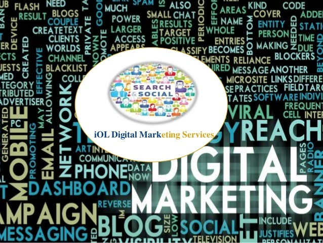 Digital & Social Marketing Services We Offer - iOL Digital