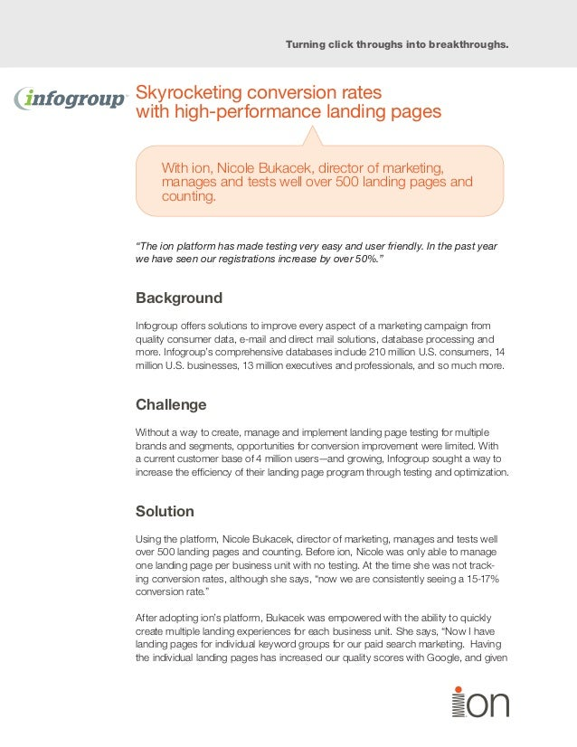 case study on marketing research process