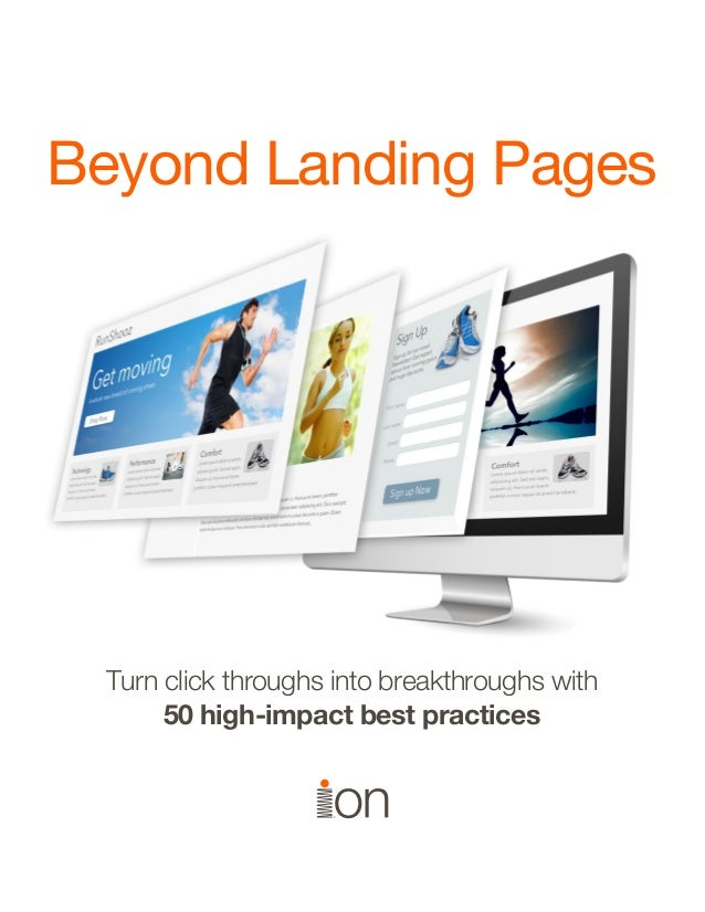 Beyond landing pages
