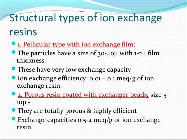 Ion Exchange Capacity Measurement Exchange Capacity ion