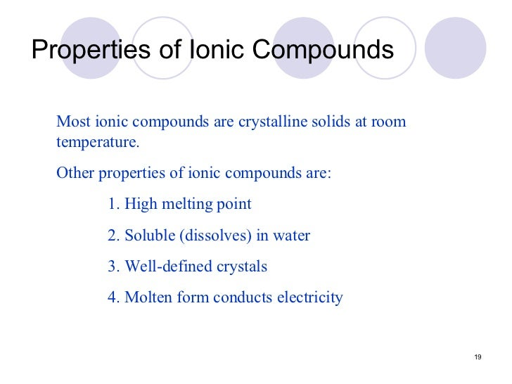 how to know if a substance is ionic