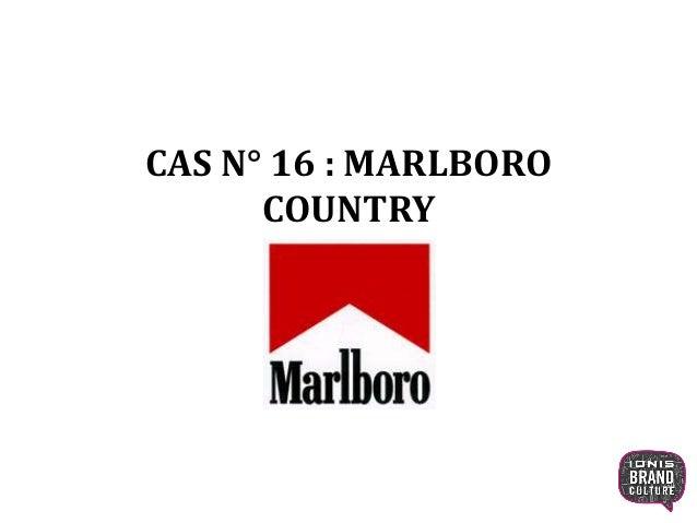 CAS N° 16 : MARLBORO COUNTRY 1