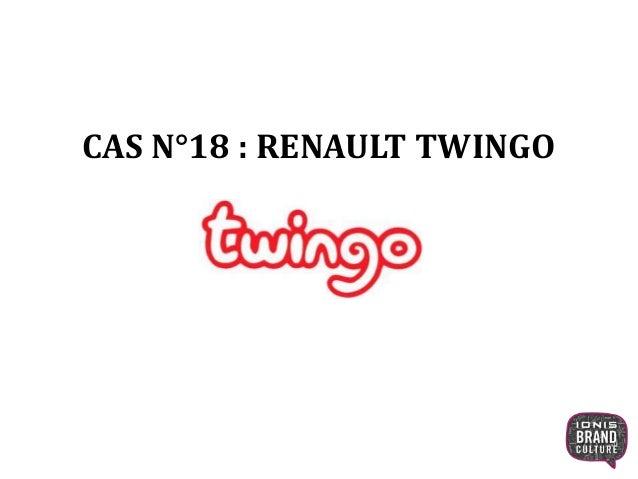 La campagne Renault Twingo
