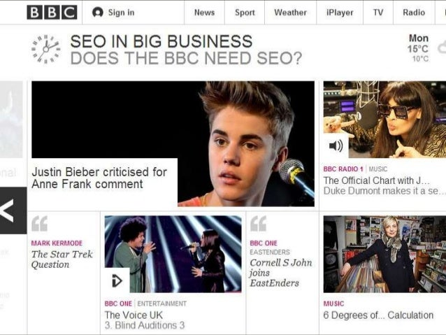 Do businesses like the BBC need to invest in SEO Ionsearch 2013