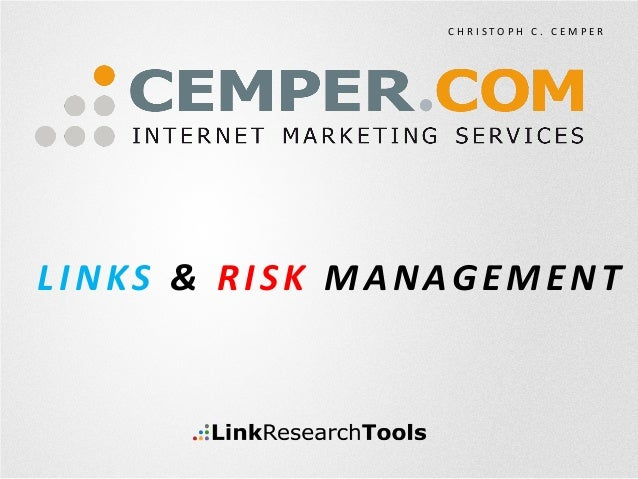 Links & Risk Management at IONsearch 2013