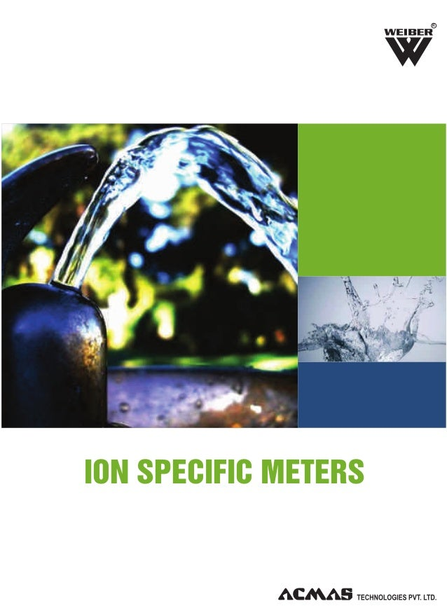 Ion Specific Meters by ACMAS Technologies Pvt Ltd.