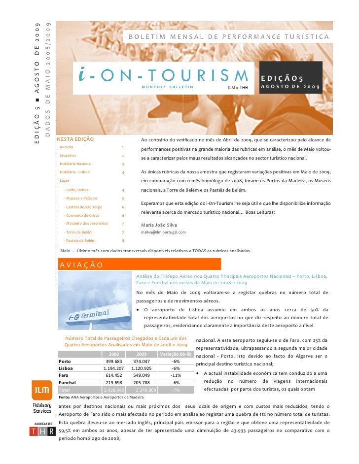 I On Tourism EdiçãO 5