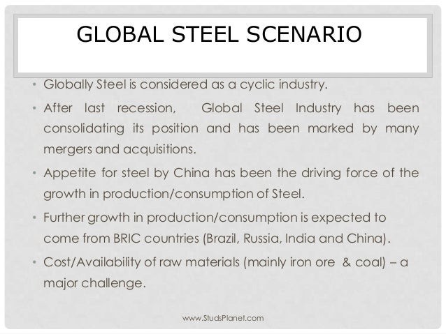 Iorn and steel industry