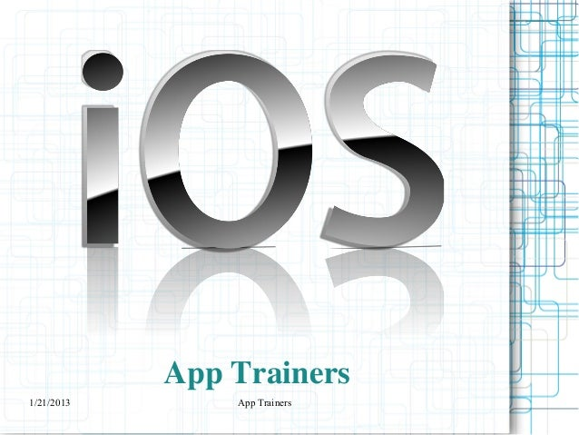 App Trainers
