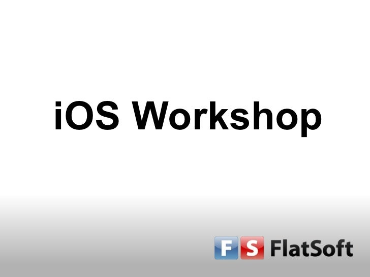 Ios workshop-fs