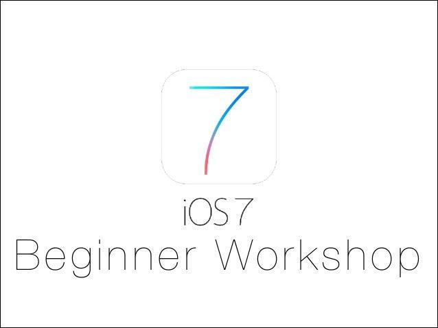 Beginner Workshop