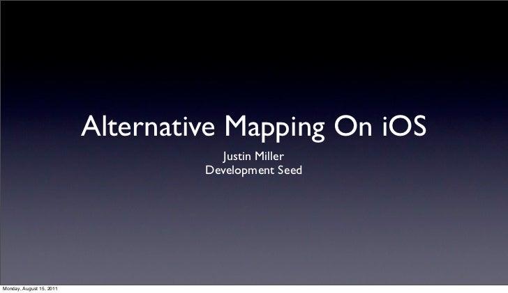 Alternative Mapping on iOS