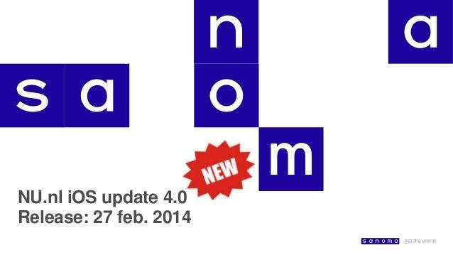 NU.nl iOS update 4.0 Release: 27 feb. 2014