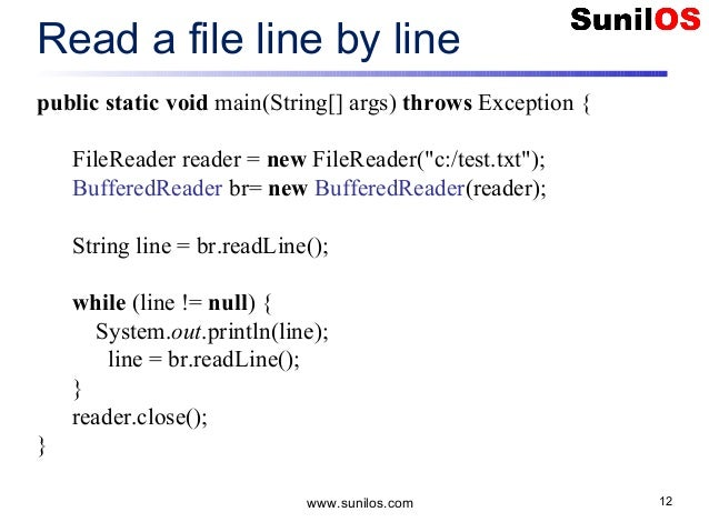 How to write to file in Java – BufferedWriter