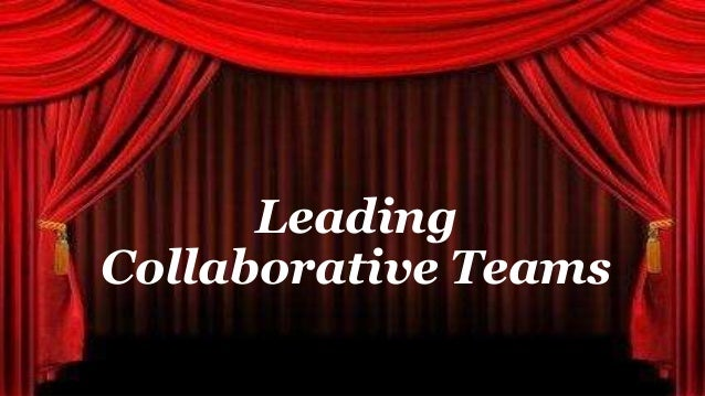 LEAD | I & Others - Leading Collaborative Teams