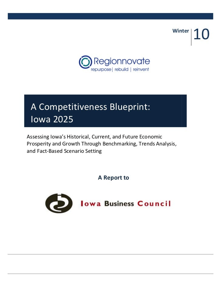 Iowa Competitiveness Blueprint 2025 1