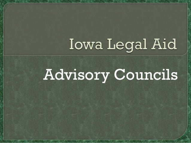 Iowa Legal Aid Advisory Councils