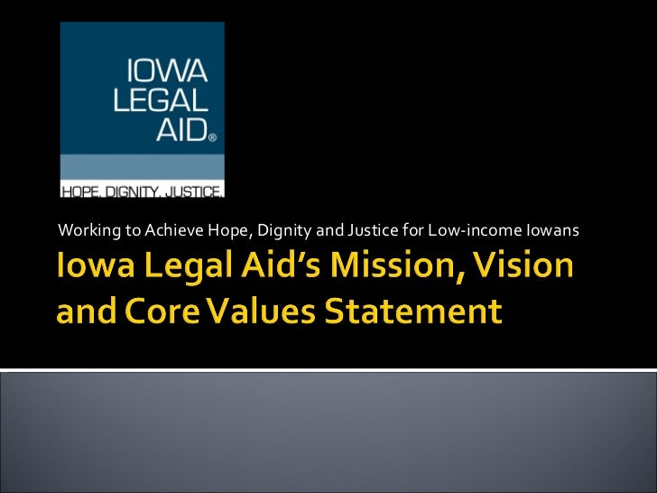 Working to Achieve Hope, Dignity and Justice for Low-income Iowans