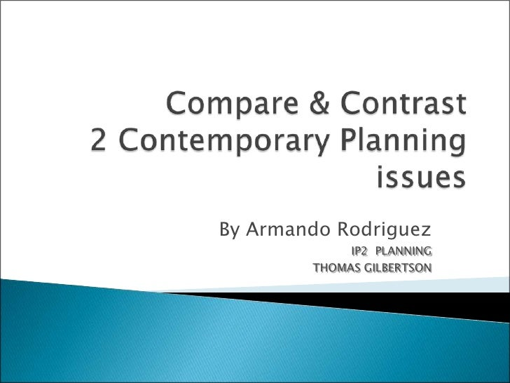 compare and contrast project manager and scenario planning techniques
