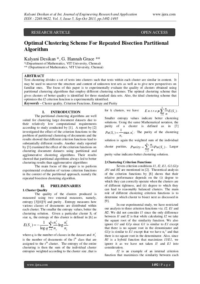 Kalyani Desikan et al Int. Journal of Engineering Research and Application ISSN : 2248-9622, Vol. 3, Issue 5, Sep-Oct 2013...