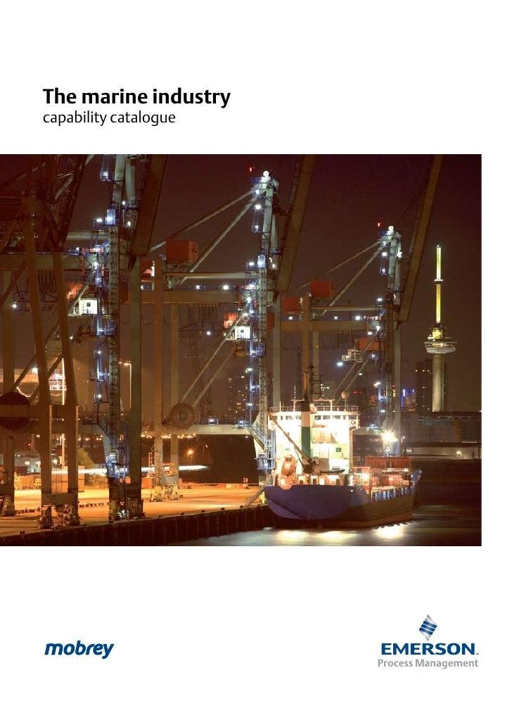 The marine industry capability catalogue