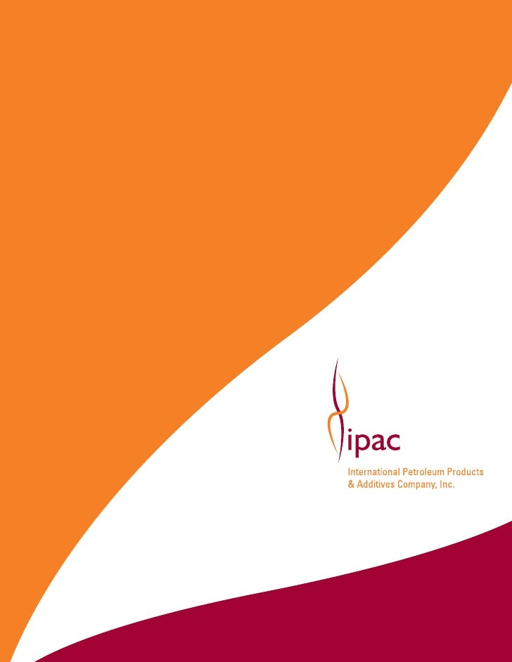 IPAC additives help lubricants protect engine and other moving parts from                                  wear, deposits,...