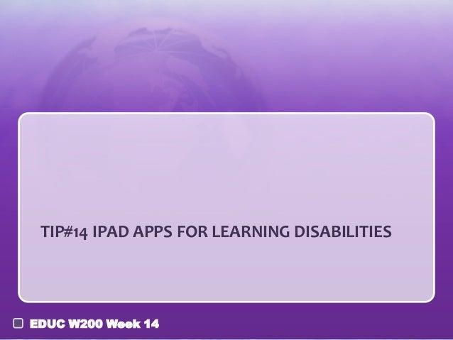 I pad apps