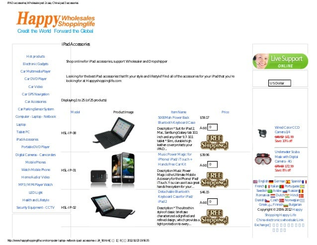 IPAD accessories, Wholesale ipod 2 case, China ipad 3 accessories
