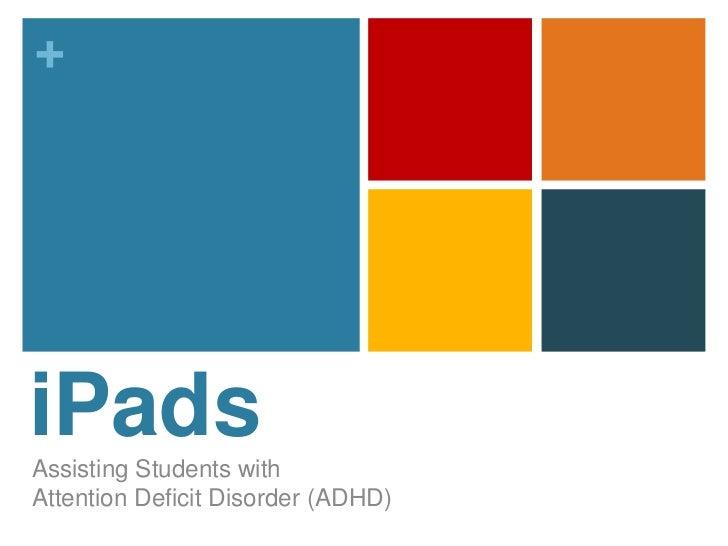 iPad and ADHD