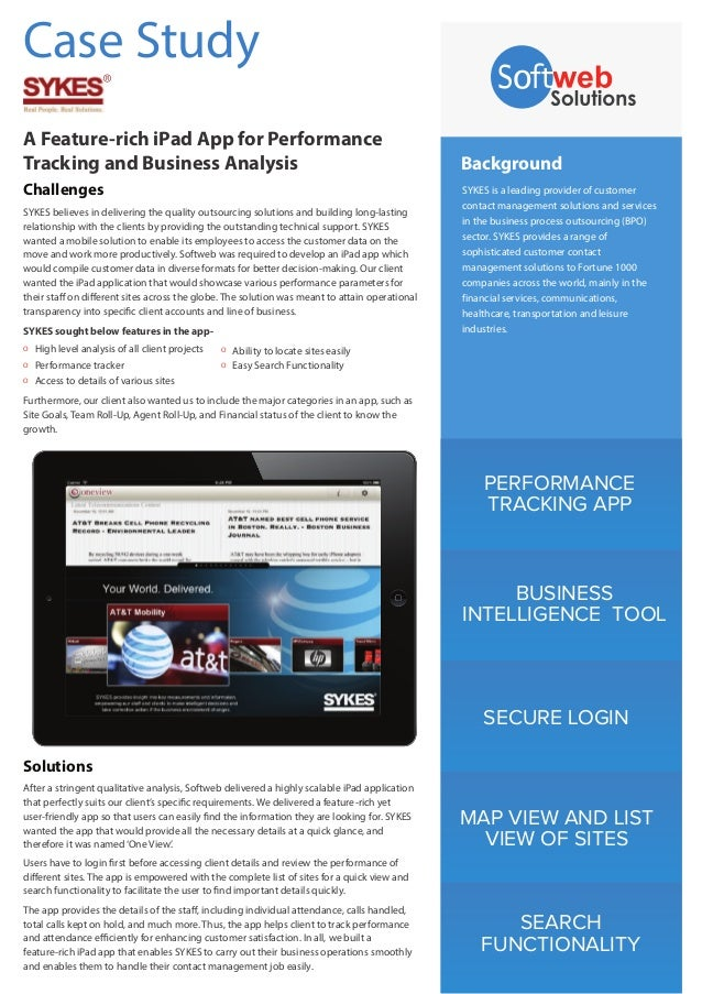 PERFORMANCE TRACKING APP BUSINESS INTELLIGENCE TOOL SECURE LOGIN MAP VIEW AND LIST VIEW OF SITES SEARCH FUNCTIONALITY Back...