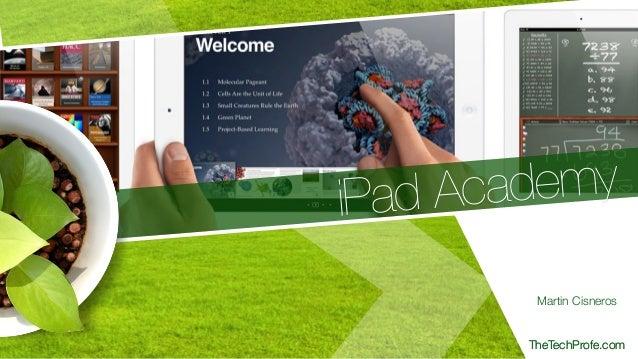 iPad Academy 2014