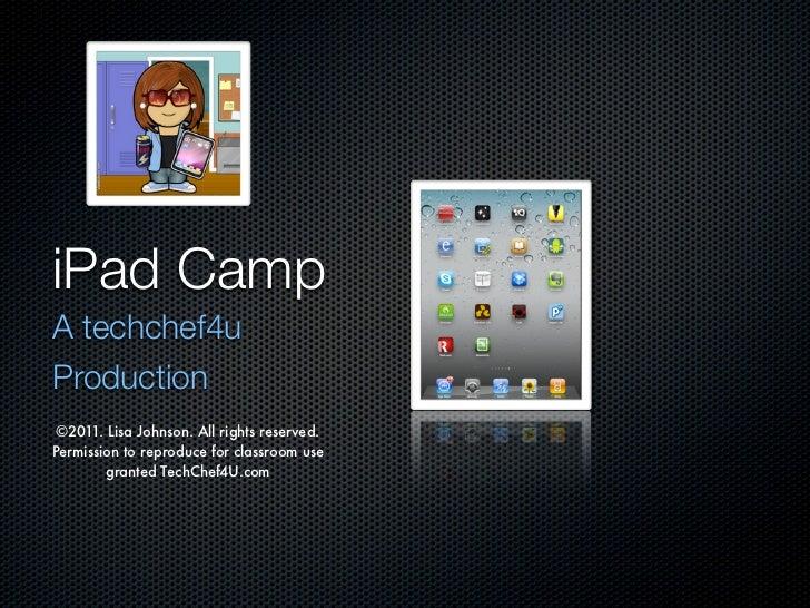 iPad camp