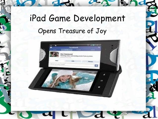 iPad Game Development Opens Treasure of Joy