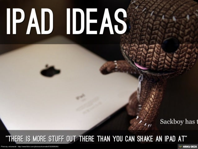 iPad iDeas fRom aNthony