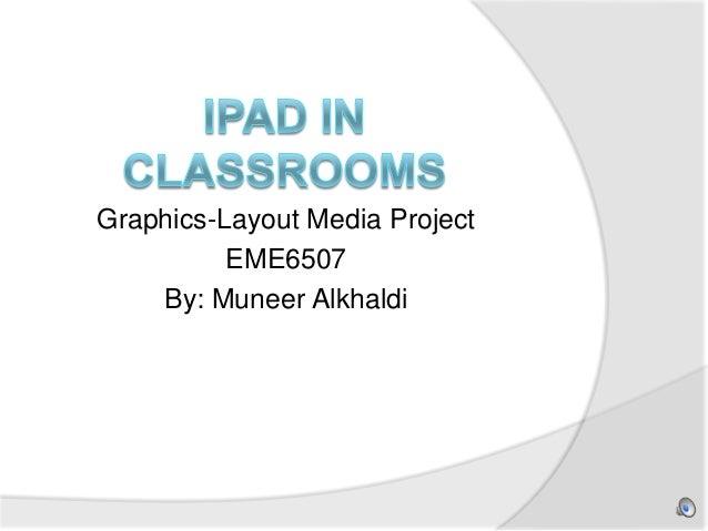 using  iPad in the classroom