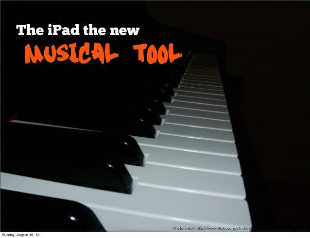 I pad music control presentation