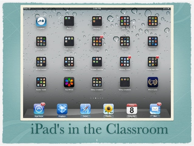 iPads in the Classroom          1
