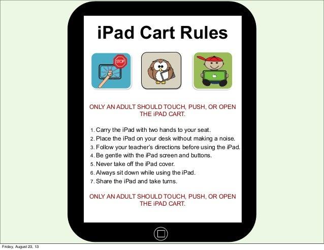 iPad Procedures (short)