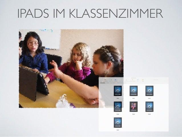 iPads im Klassenzimmer
