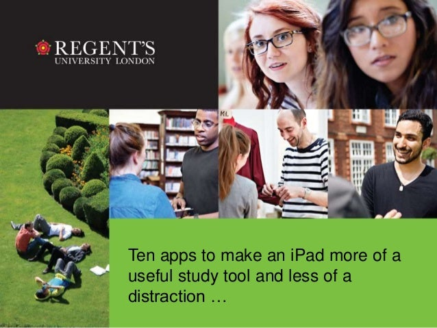 Top 10 iPad apps to make your students life easier