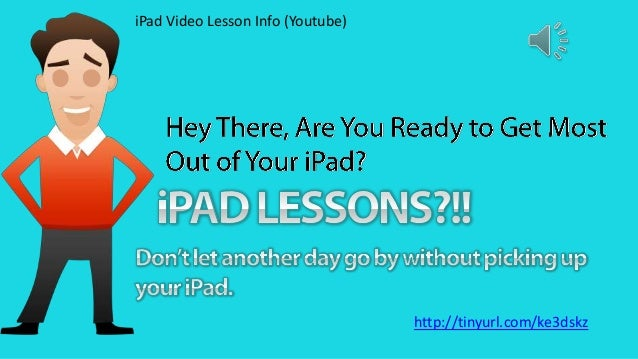 iPad Video Lessons Info: How to use iPads like a Pro!