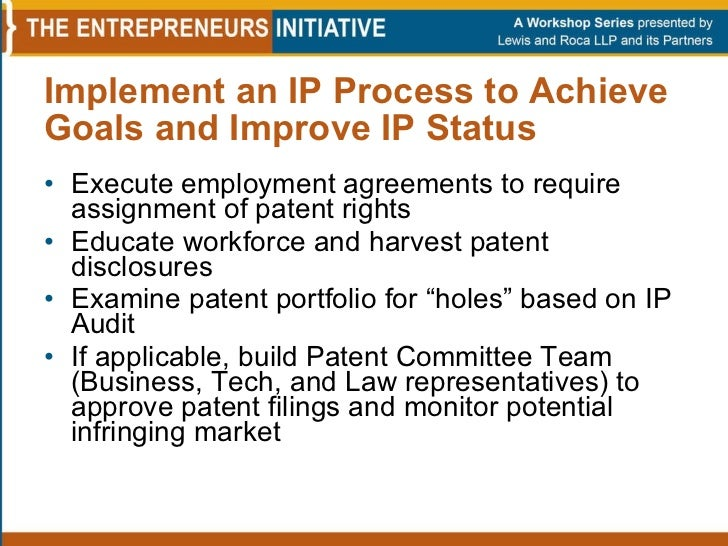 Patent Assignment Agreement - National Paralegal College