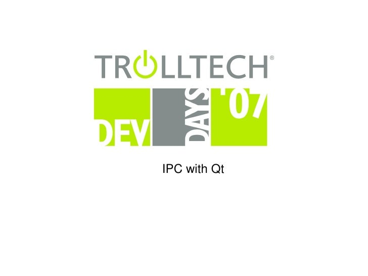IPCwithQt